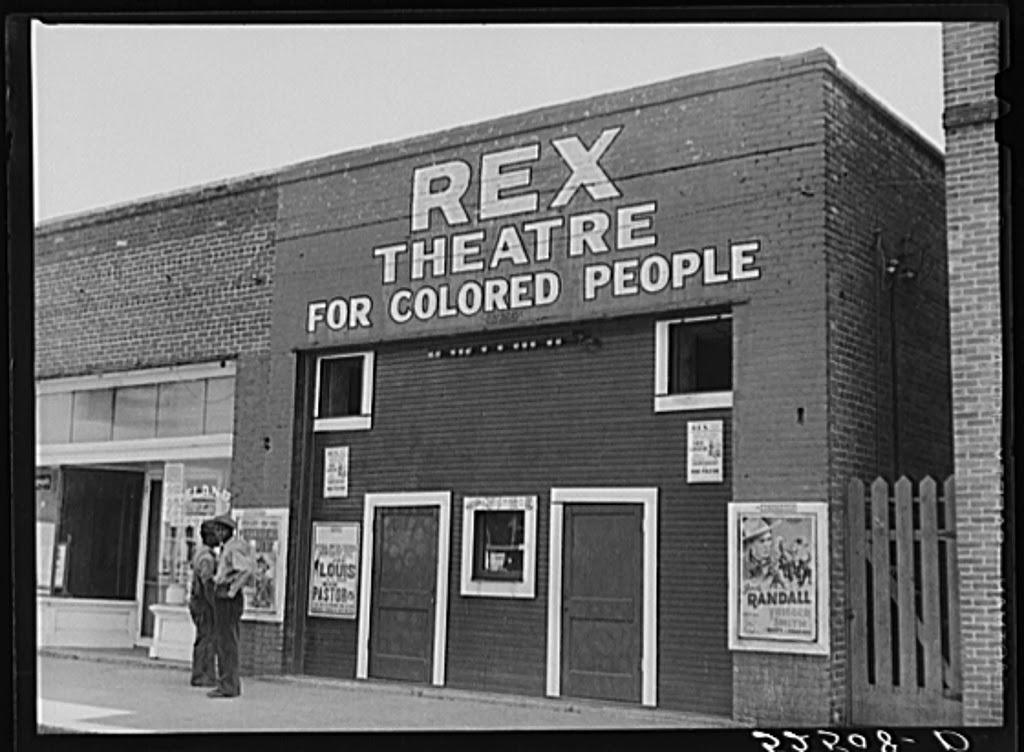 1939. Színház feketéknek. Leland, Mississippi..jpg