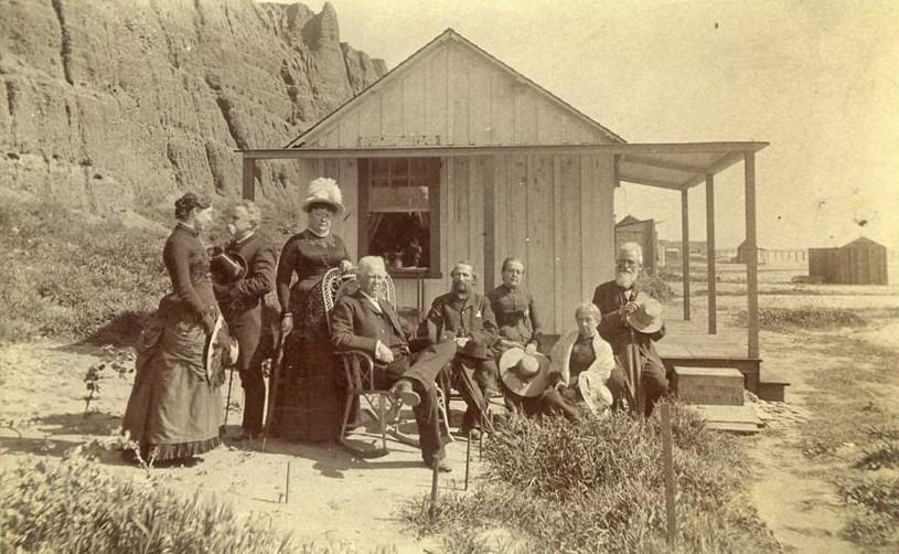 1880. A kaliforniai Santa Monica beach korai látogatói..jpg