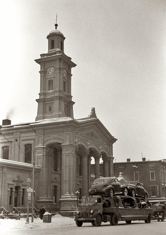 1940-es évek. Buick szállító teherautó. Chillicothe, Ohio..jpg