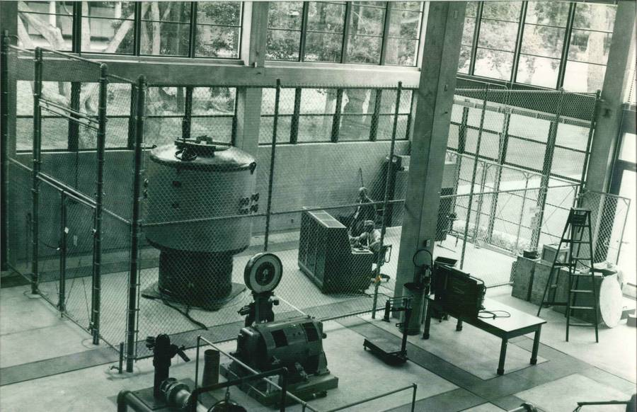 1957. 5W-os atomreaktor a texasi Agricultural and Mechanical University-n.jpg