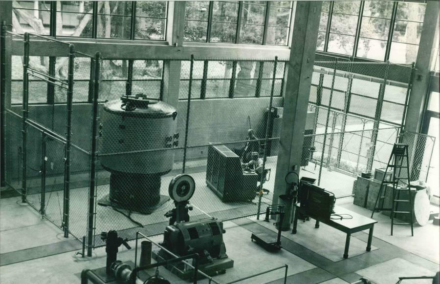1957. 5W-os atomreaktor a texasi Agricultural and Mechanical University-n.jpg