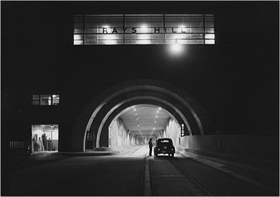 1942. Rays Hill alagút a Pennsylvania autóúton..jpg