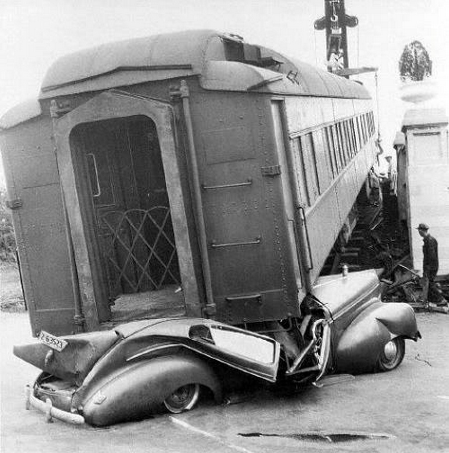 1950. Vasúti baleset. Union Station, Memphis, USA..jpg