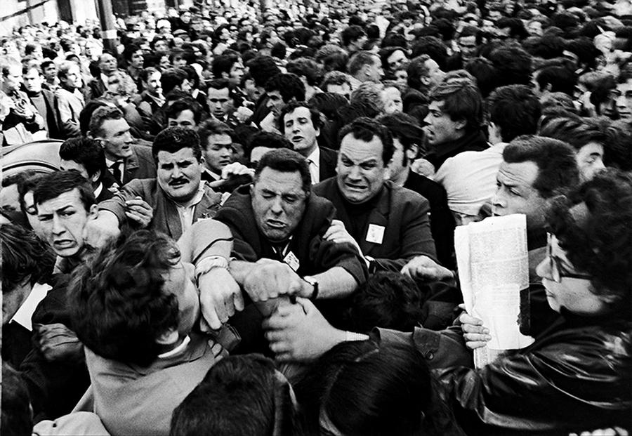 1968. május 1. Párizsi diákok zavargása..jpg