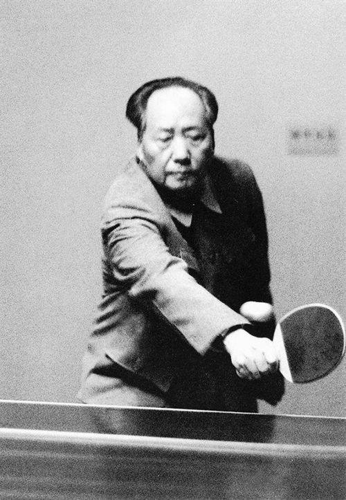 1963. Mao Ce Tung asztaliteniszezik..jpg