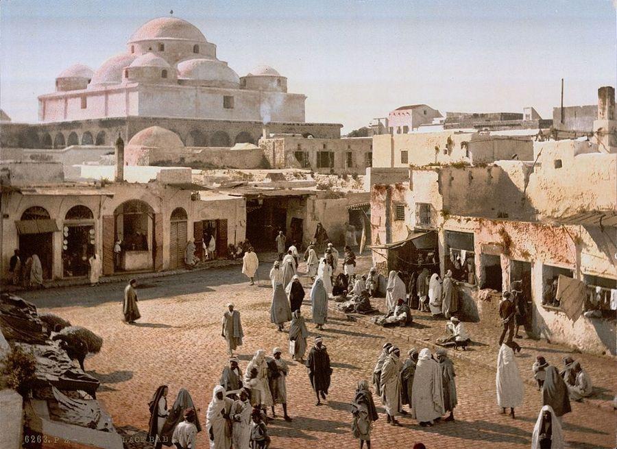1899. Tunisz, Tunézia..jpg