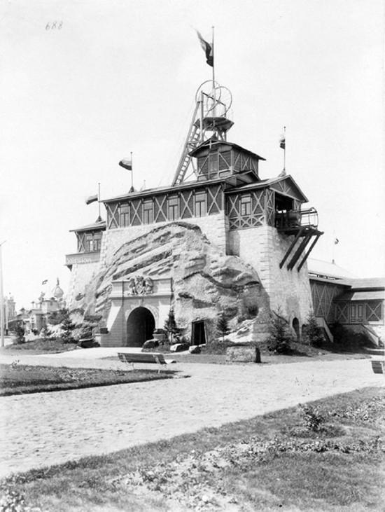 1896. XVI. Össz-orosz ipari és képzőművészeti kiállítás bányászati pavilonja. Nyizsnyij Novgorod..jpg