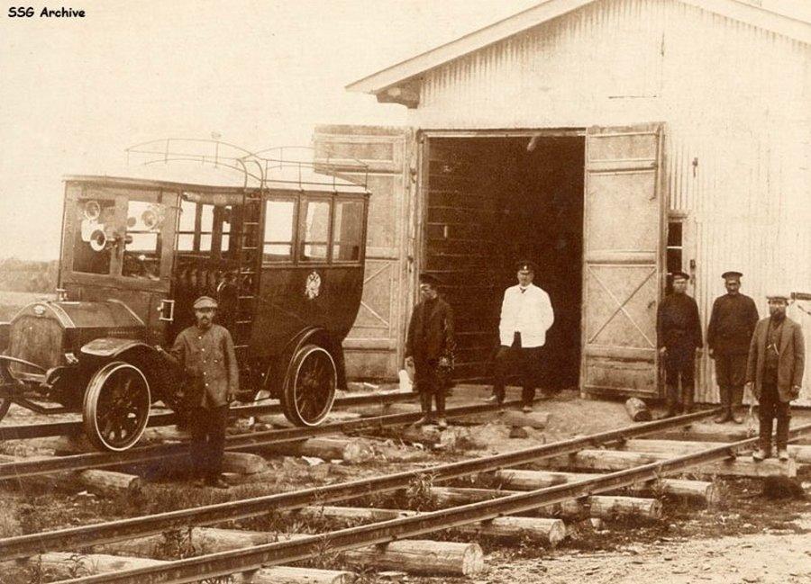 1914. Pályabejáró sinautó az Amur közelében a transzszibériai vasúton..jpg