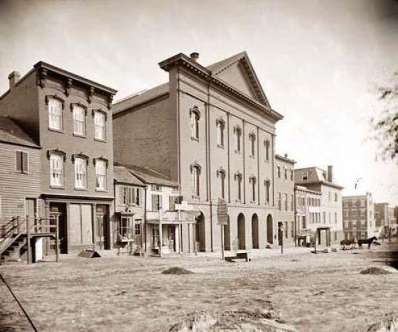 1863. A Ford színház, ahol Lincoln lelőtték..jpg