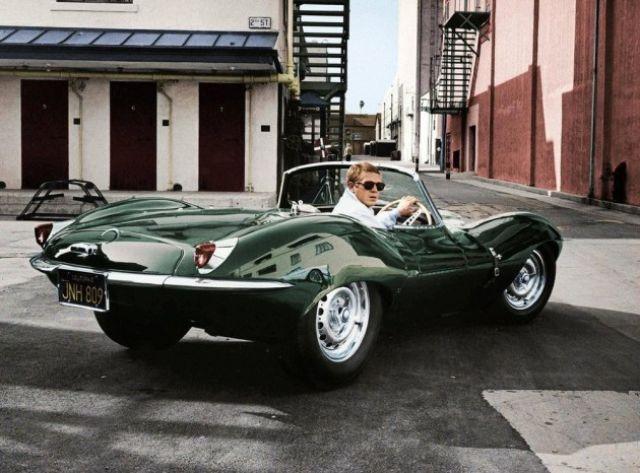 1957. Steve McQueen, mint majdnem mindig, most is a volánnál..jpg