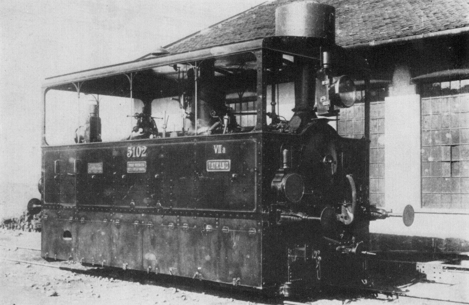 1894. MÁV gőzmozdony Bécs-Floridsdorf.jpg