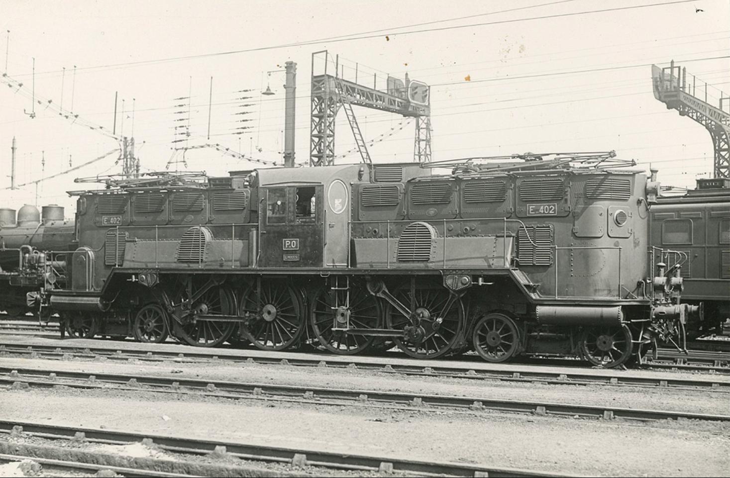 1930 GANZ mozdony a Párizs-Orleans vonalon.jpg