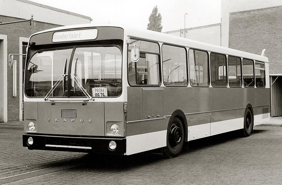 1971. Ikarus 190 prototípus Hamburgban NSZK.jpg