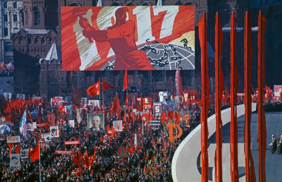 Wonderful Colour Photos of 50th Anniversary Soviet October Revolution in Moscow, 1967 (2).jpg
