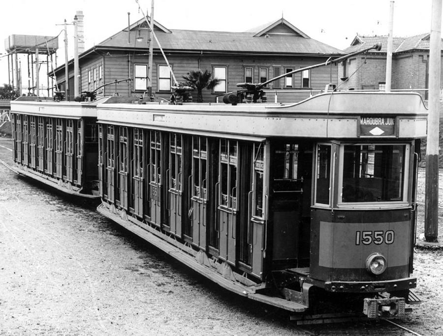 1930-as évek. P-osztályú kocsik, Waterloo, Sydney..jpg