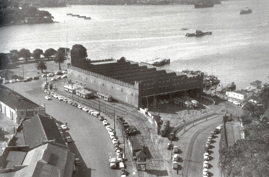 1957. Fort Macquarie remíz, Sydney..jpg