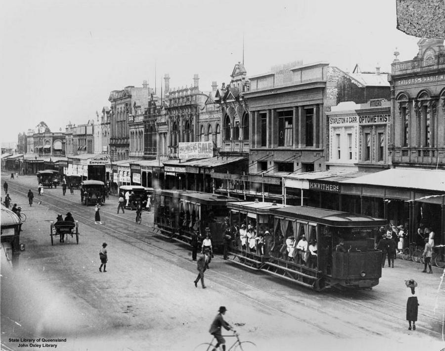 1923. East Street, Rockhampton, Brisbane..jpg