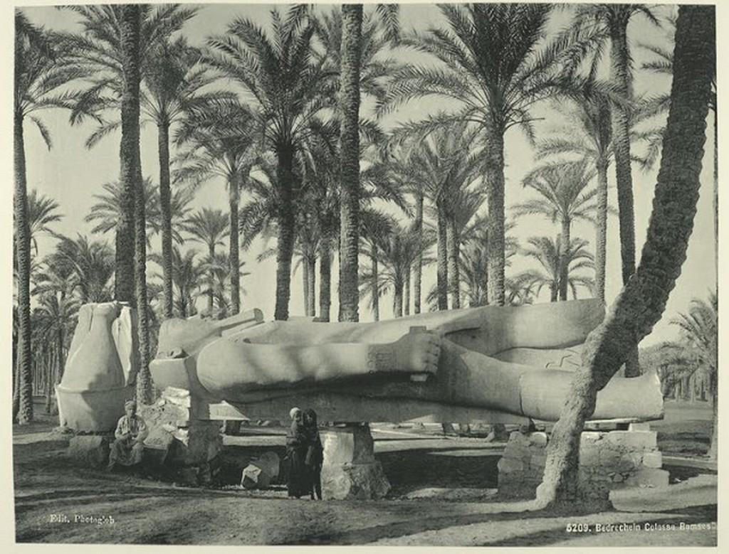 Brechin [el-Badrashin] Ramses II Colossus, Lower Egypt.jpg
