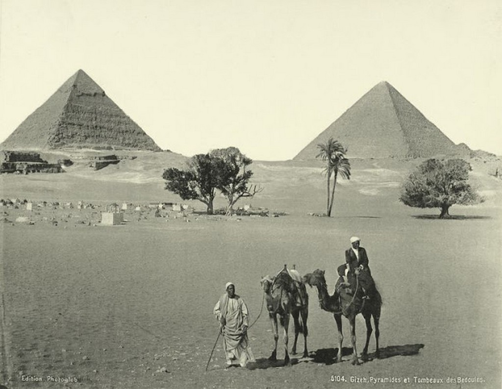 Giza Pyramids and Tombs of Bedouins.jpg