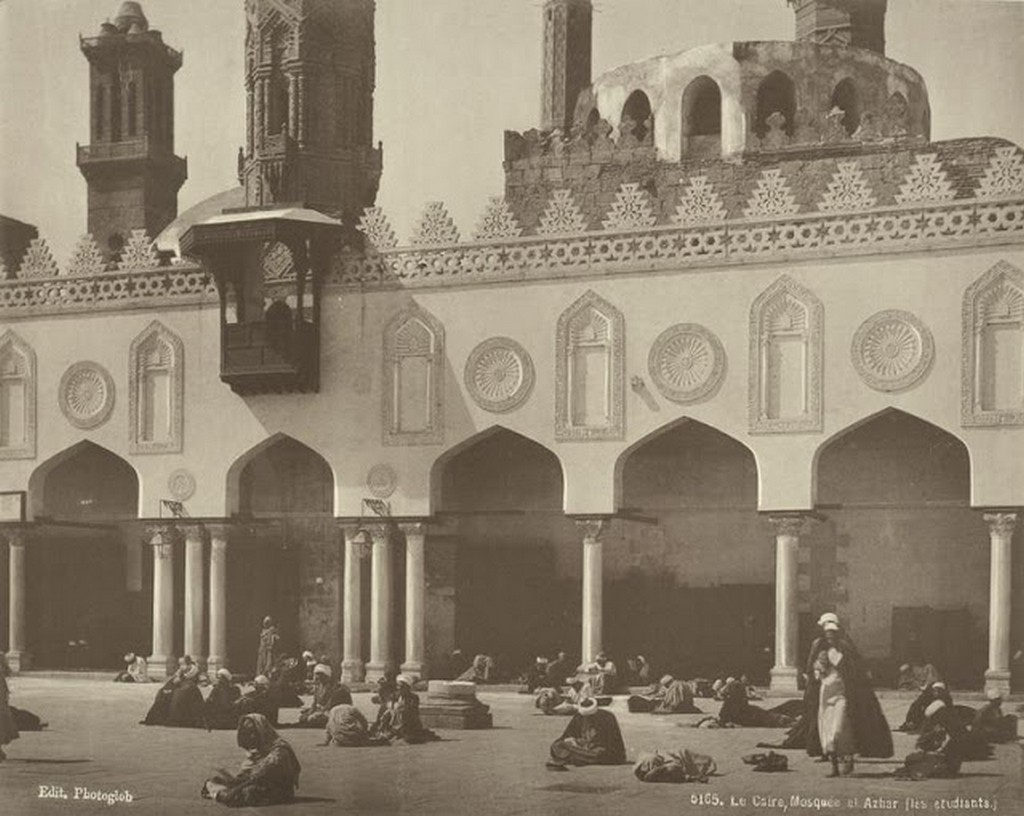 Mosque el Azhar (the students).jpg