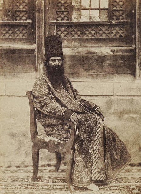 Tehran, Iran from 1848 to 1864 (8) Nászír ad-Dín kádzsár sah.jpg