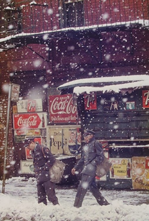 Daily Life in the 1950's by Saul Leiter (5).jpg