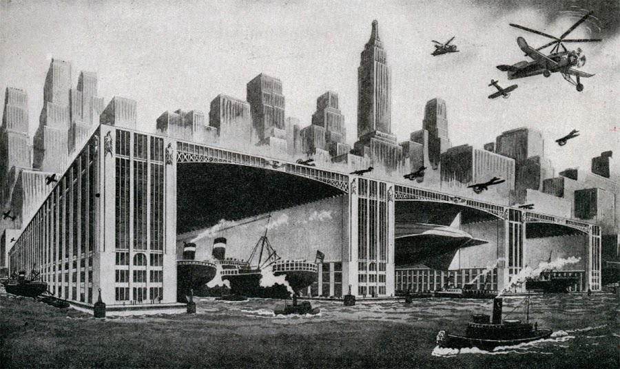 1931. Airport Docks, envisioned by architect Harry B. Brainerd.jpg