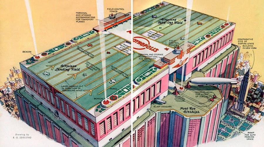 1939. Skyscraper Airport for City of Tomorrow.jpg
