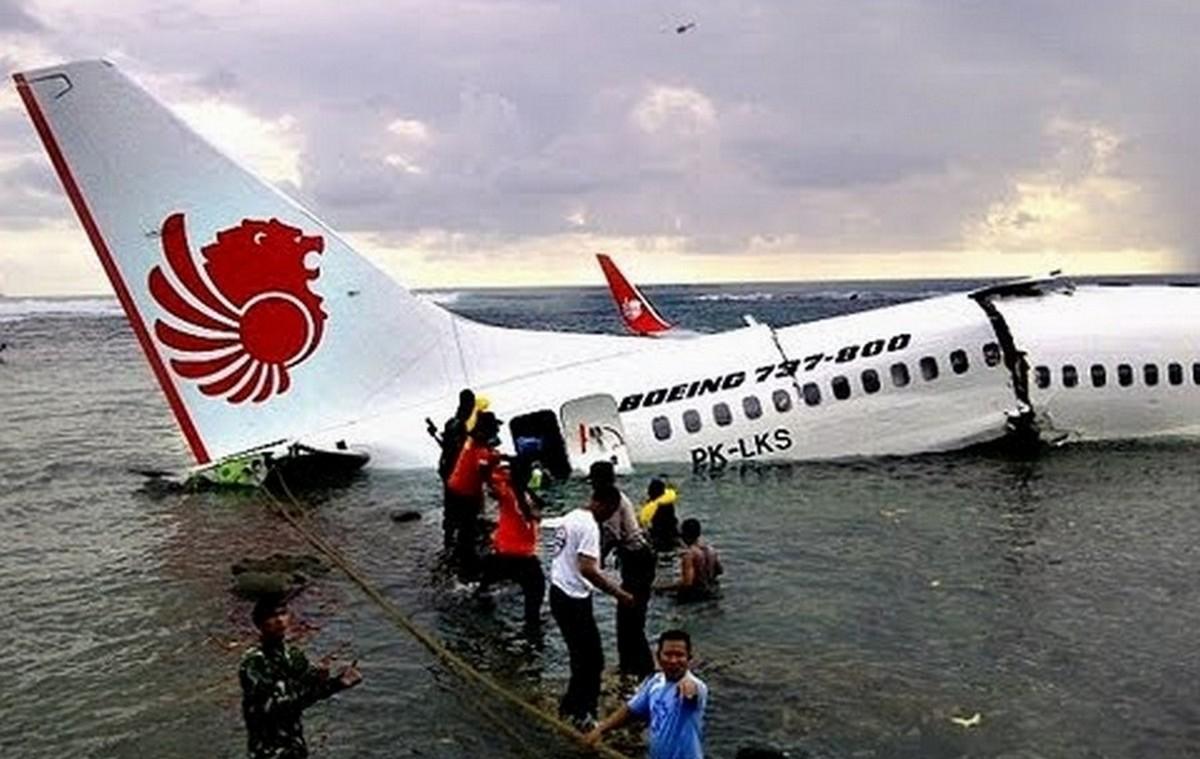Mind a 108 utas és a személyzet sértetlenül megúszta az esetet.