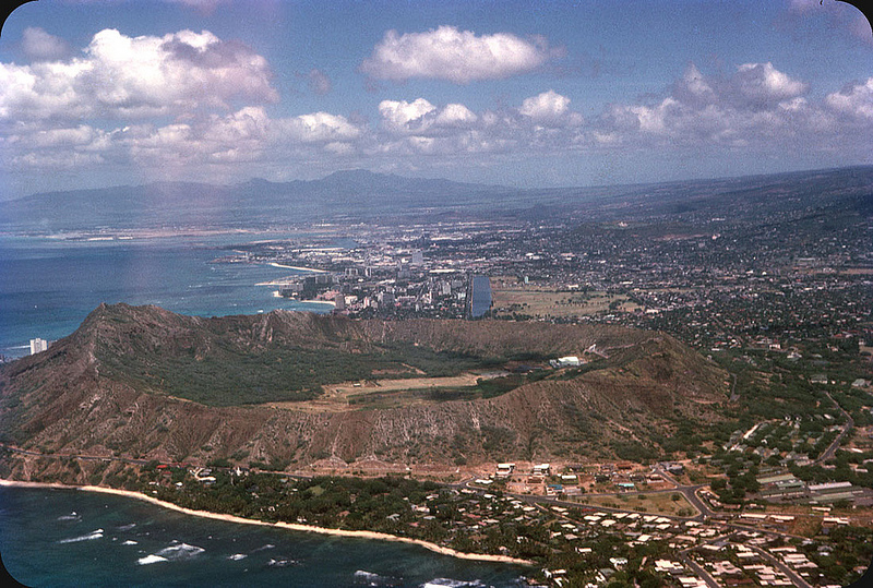 1954. Diamond Head, Honolulu, Hawaii.jpg
