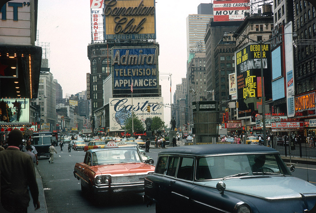 1964. Times Square, New York City.jpg