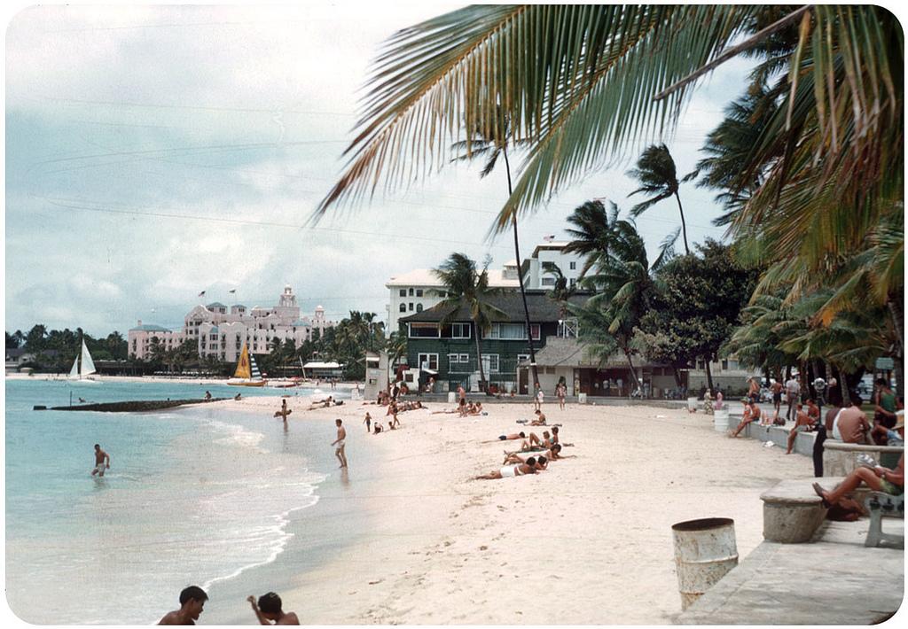 97. 1954. Waikiki Beach.jpg