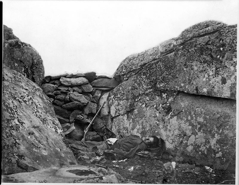 1863. Gettysburg. Halott lövész..jpg