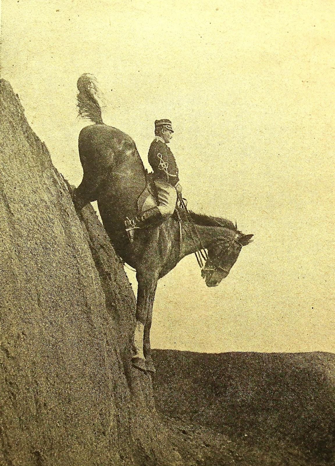 1906. Olasz lovas iskola bemutatója Tor di Quinto-ban Róma közelében..jpg