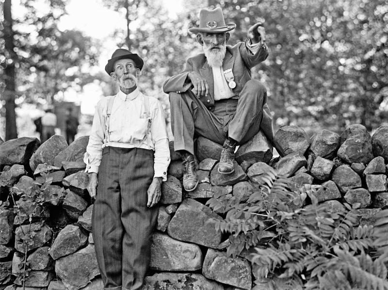 1913. Gettysburg-i csata veteránjai az 50 éves évfordulón.jpg