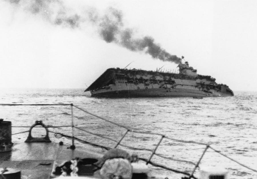 Nagy-Britannia: 1939. szeptember 17. A brit repülőgép-hordozó HMS Courageous-t megtámadta a német U-29 tengeralattjáró és 20 perc alatt elsüllyedt. 518 halott.