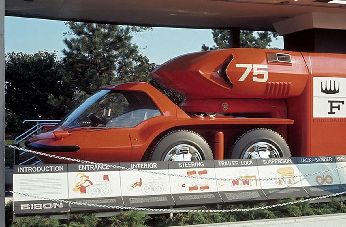 GM Bison, a 'jövő teherautója'