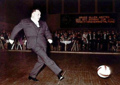 Erich Mielke a 80-as években egy Dynamo rendezvényen
