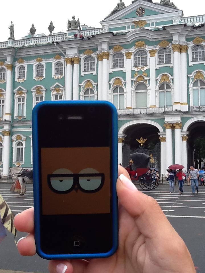 Orsi Szentpétervárra vitt magával.