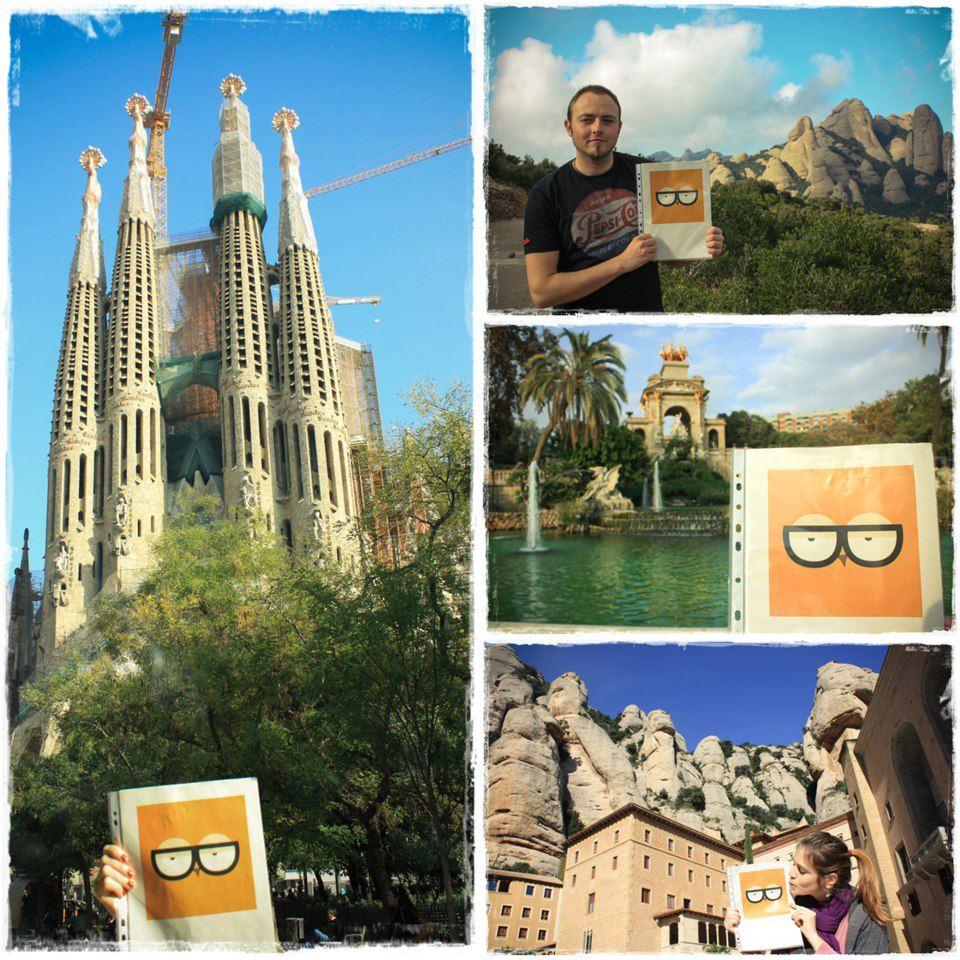 Edina és Peti a csodálatos Barcelonát mutatta meg nekem.
