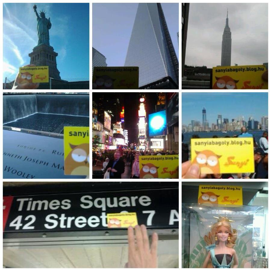 Vikivel New Yorkban csapattuk.