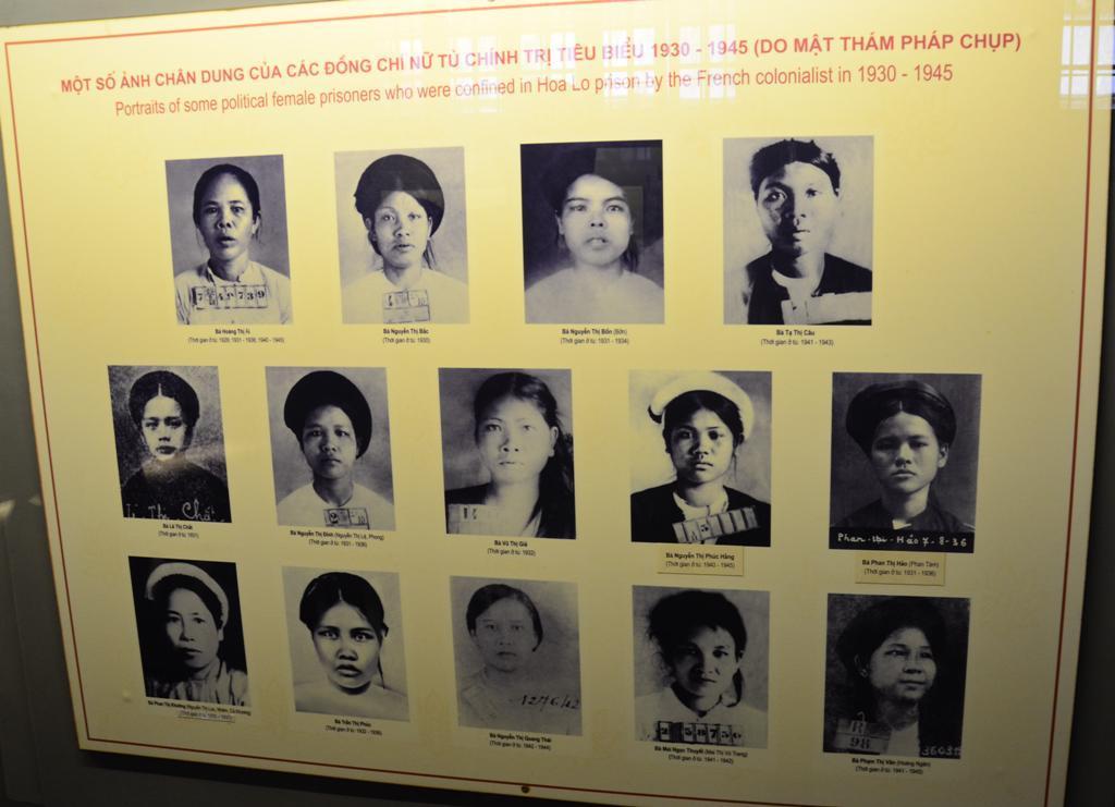 Noi politikai foglyok akik 1930-45 kozott raboskodtak itt.