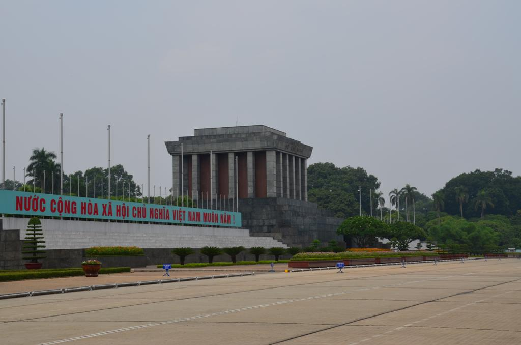 Ho Si Minh mauzoleum