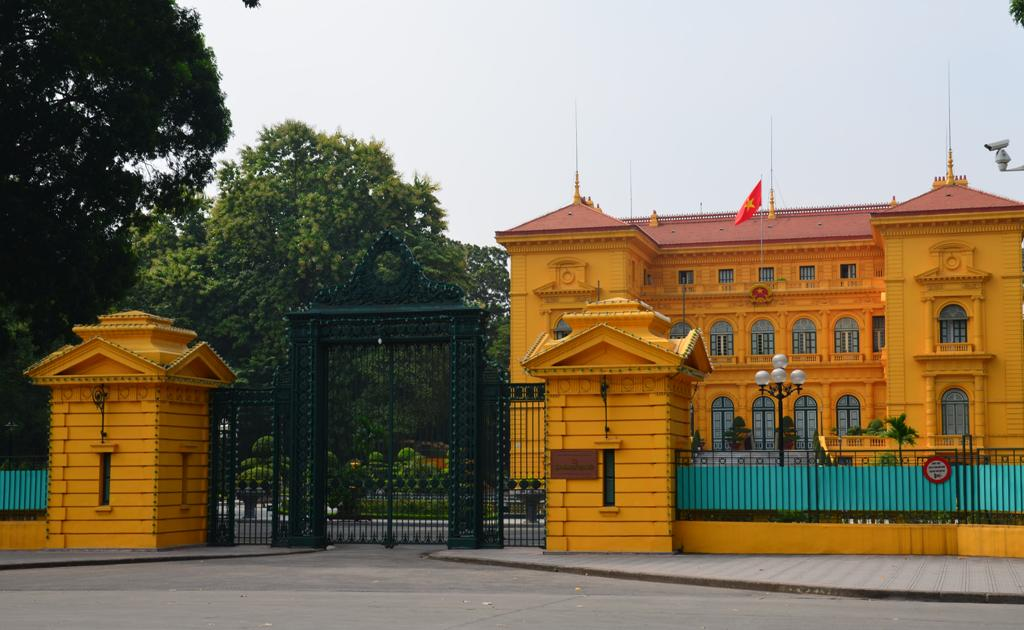 Ho Si Minh egykori rezidenciaja