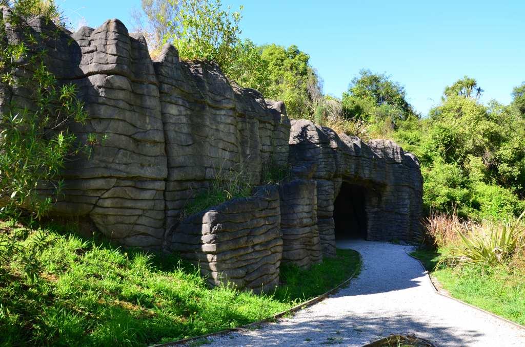 A barlang bejarata