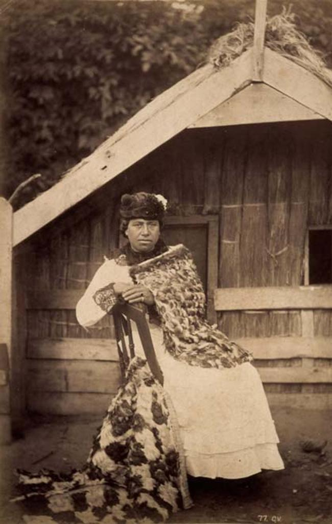 Guide Kate, 1885-ben.<br /> A 19. szazadveg masik hires kiseroje.