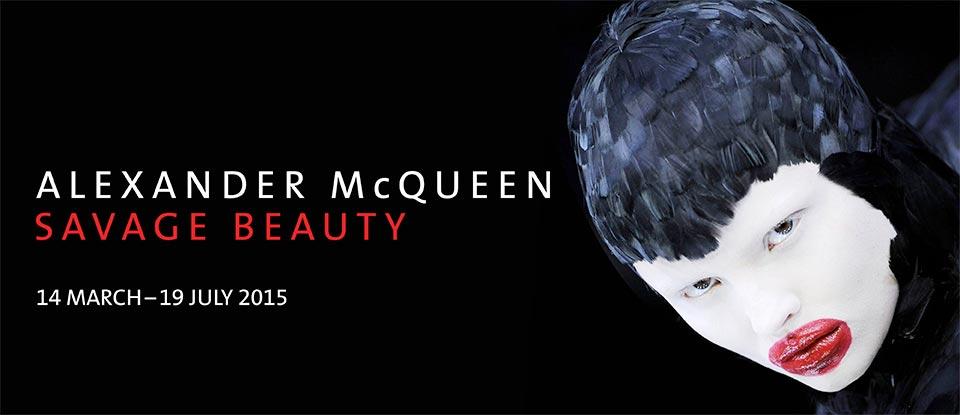 Fotók a londoni Alexander McQueen kiállításról