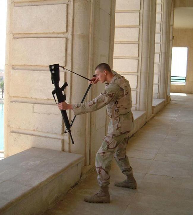 Katonák, ha éppen nem harcolnak