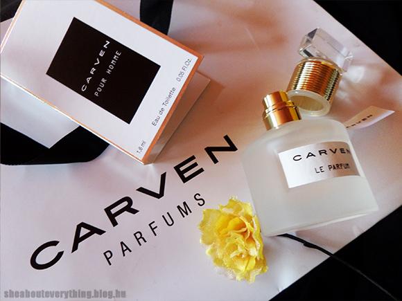 Carven illatok: elfelejtheted a webshopokat!