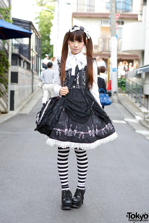 Gothic Lolita - forrás: tokyofashion.com